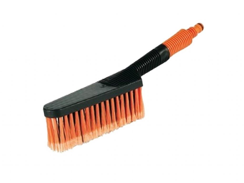 Autokartáč mycí průtokový jemný vlas 1