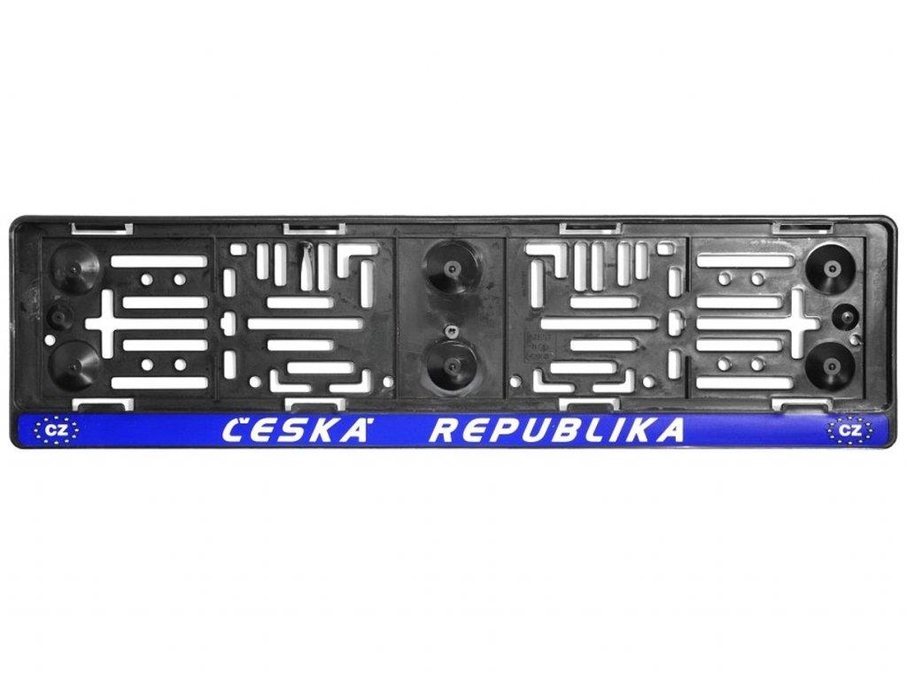 Podložka pod SPZ ČR EU 1