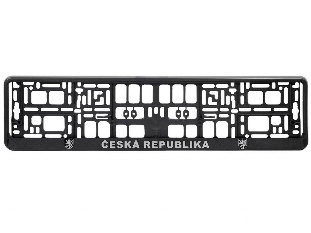 Podložka pod SPZ CHROM ČR 3D 1