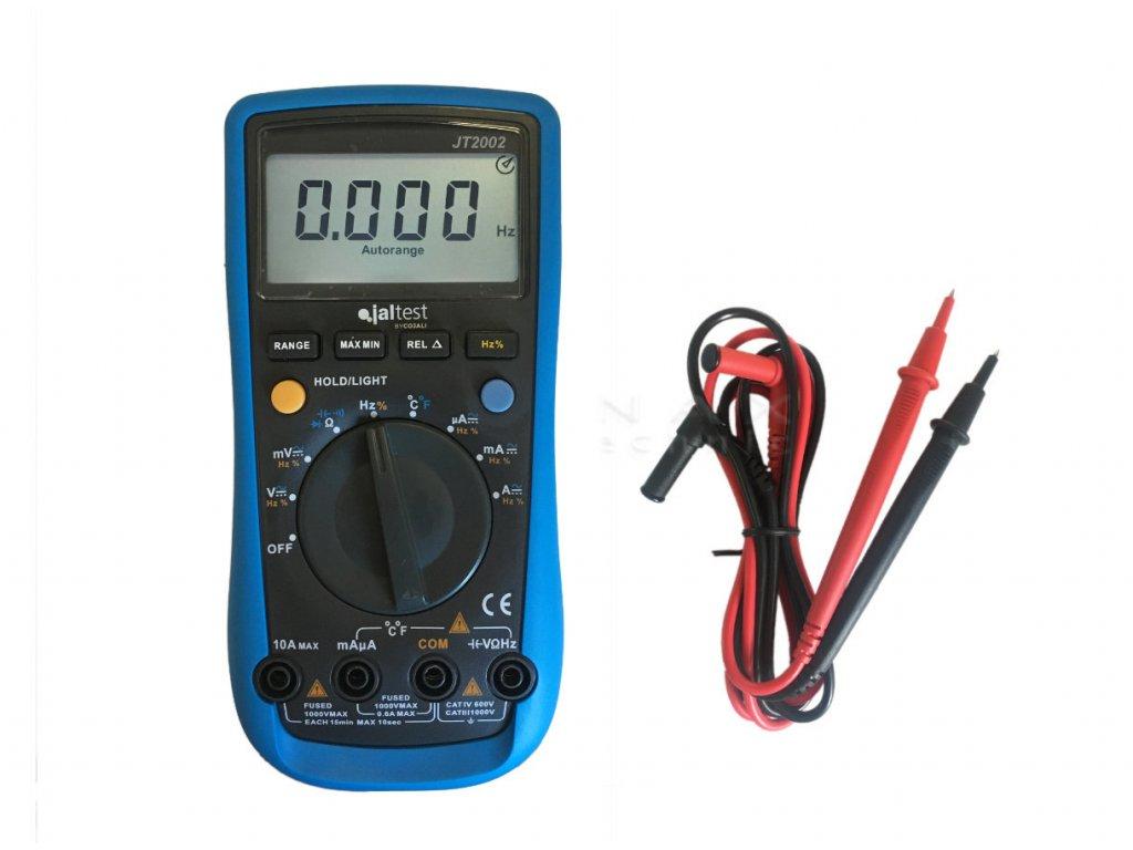 JalTest auto range multimeter 1