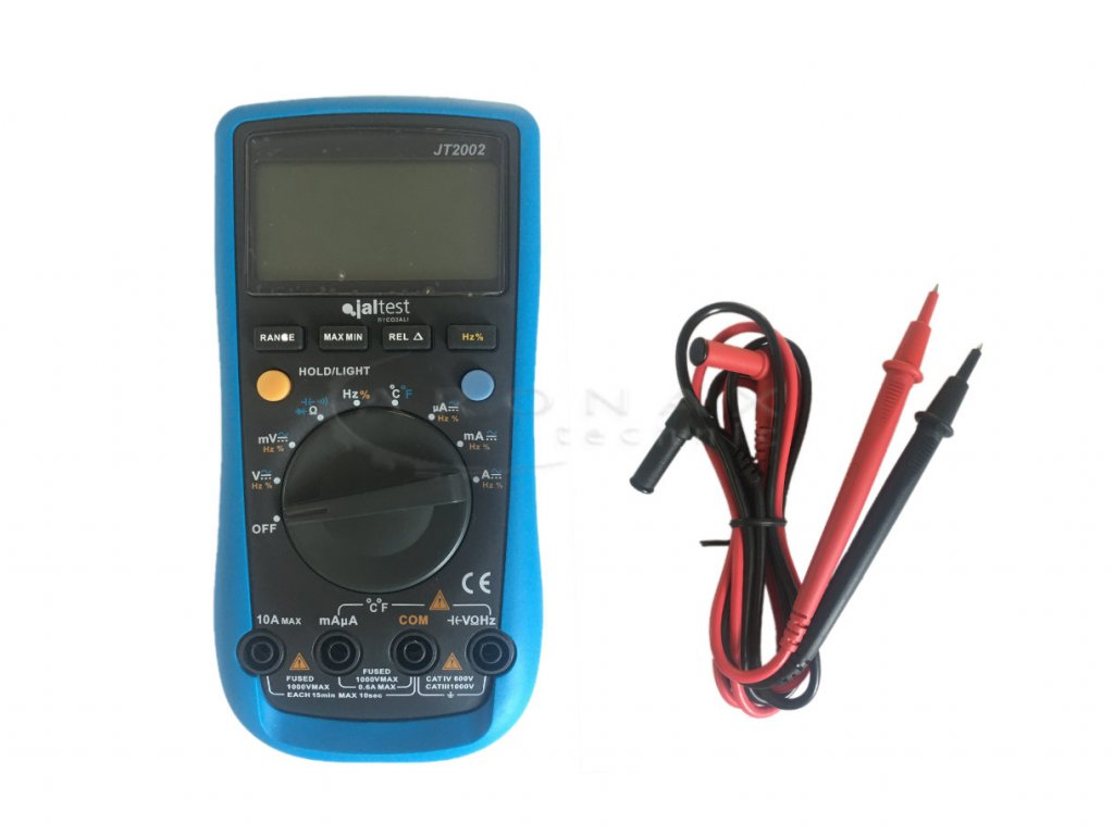 JalTest auto range multimeter 1