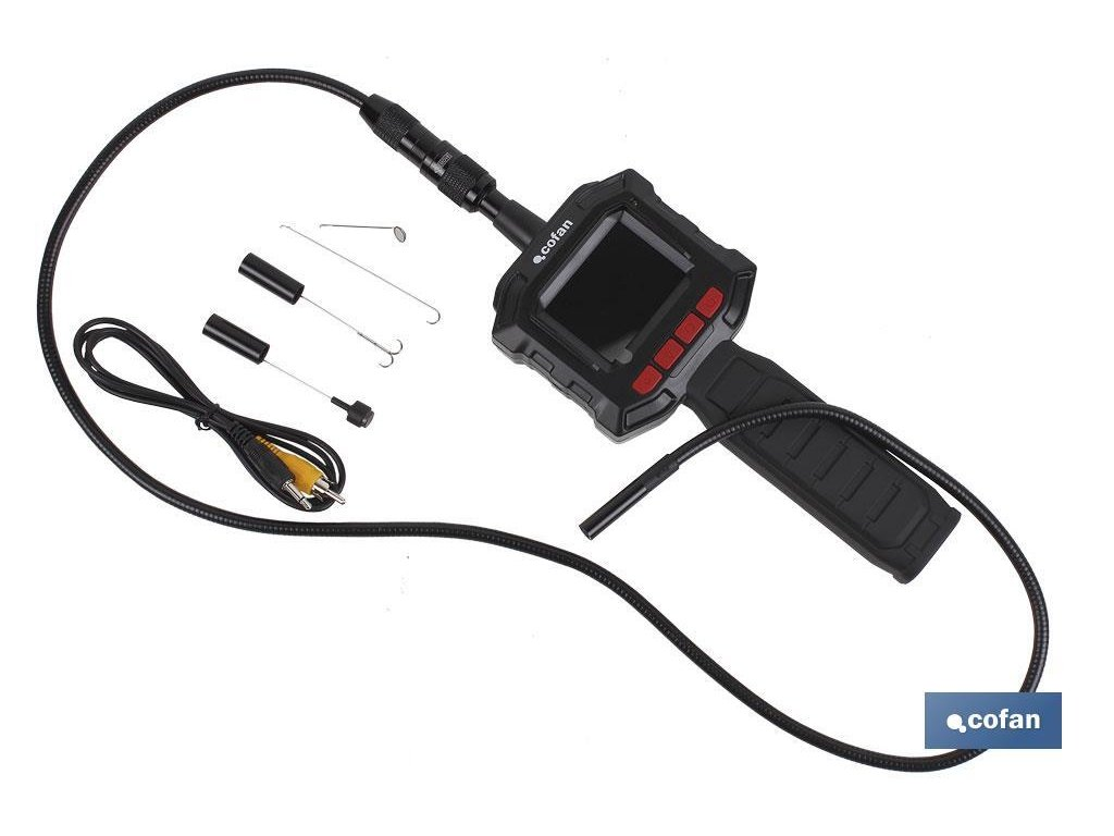 Inspekční kamera s LCD displejem