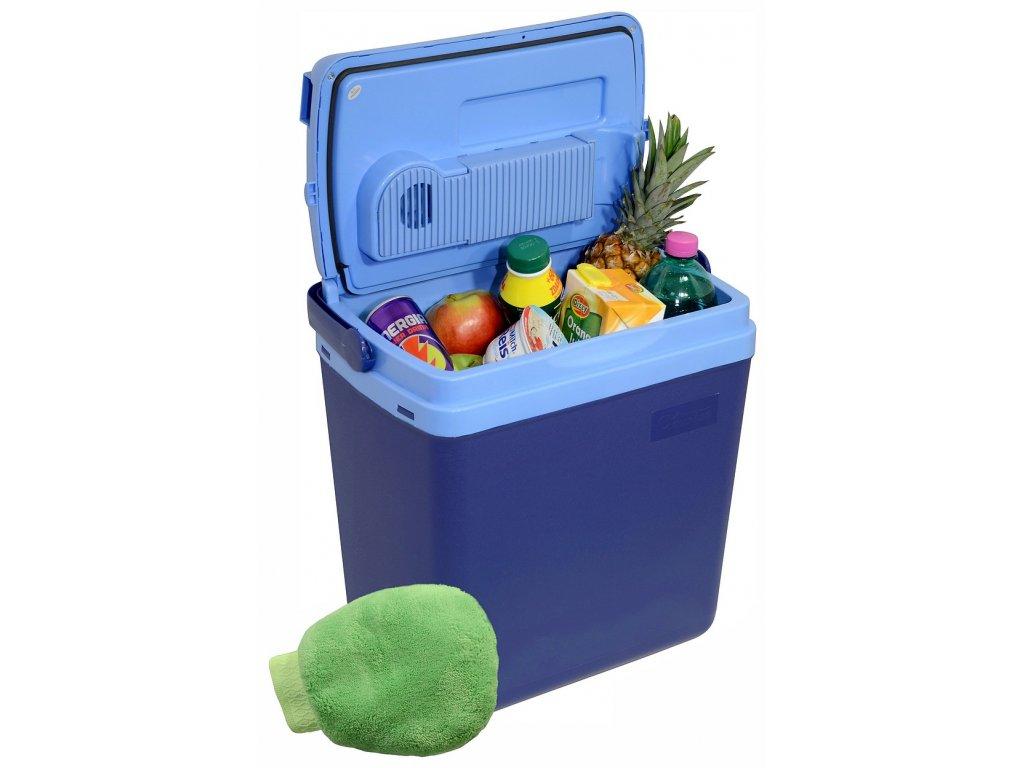 Chladící box 25litrů BLUE 230 12V displej s teplotou A