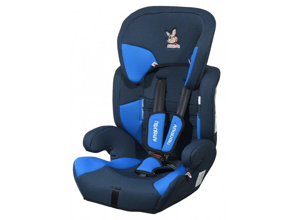 Autosedačka (I,II,III) 9 36kg ANGUGU s pásy modrá A