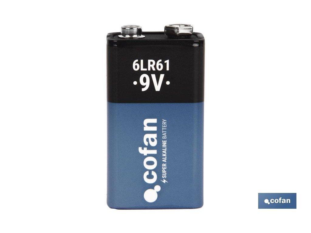 Alkaická baterie 6V A