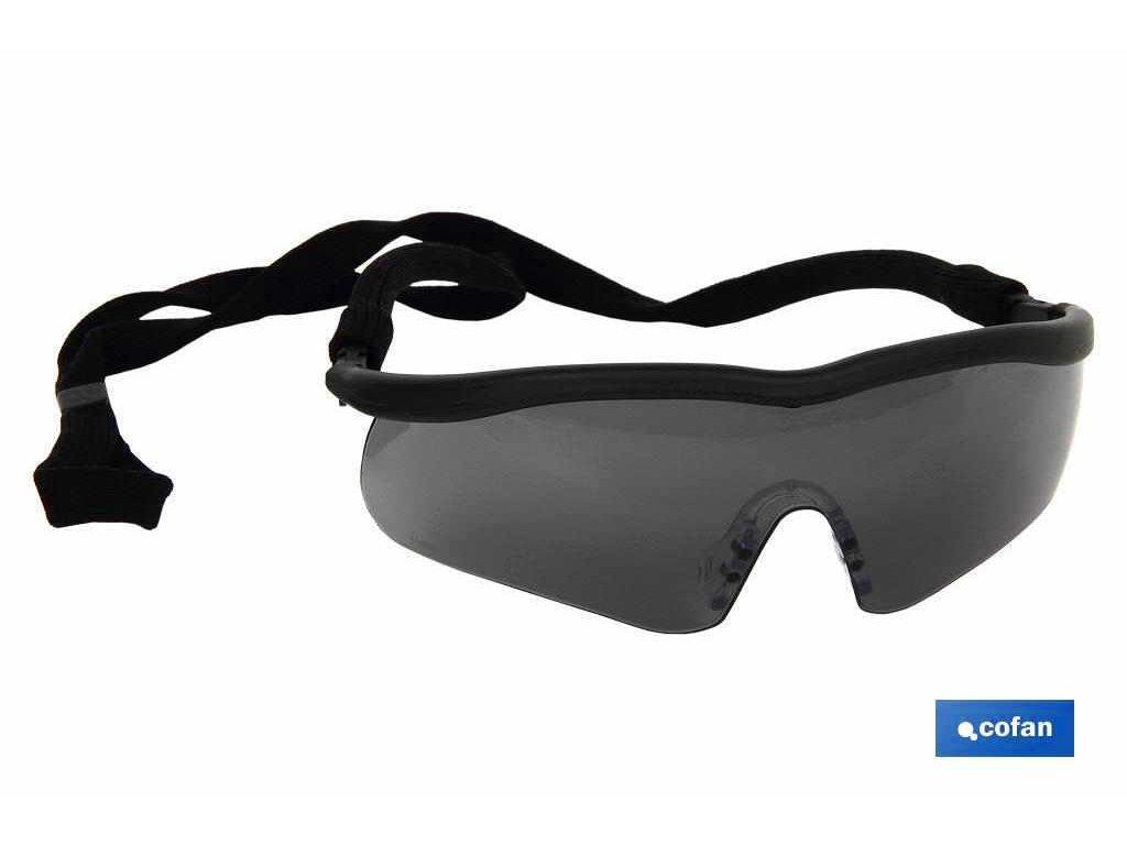 Sportovní ochranné brýle černé A