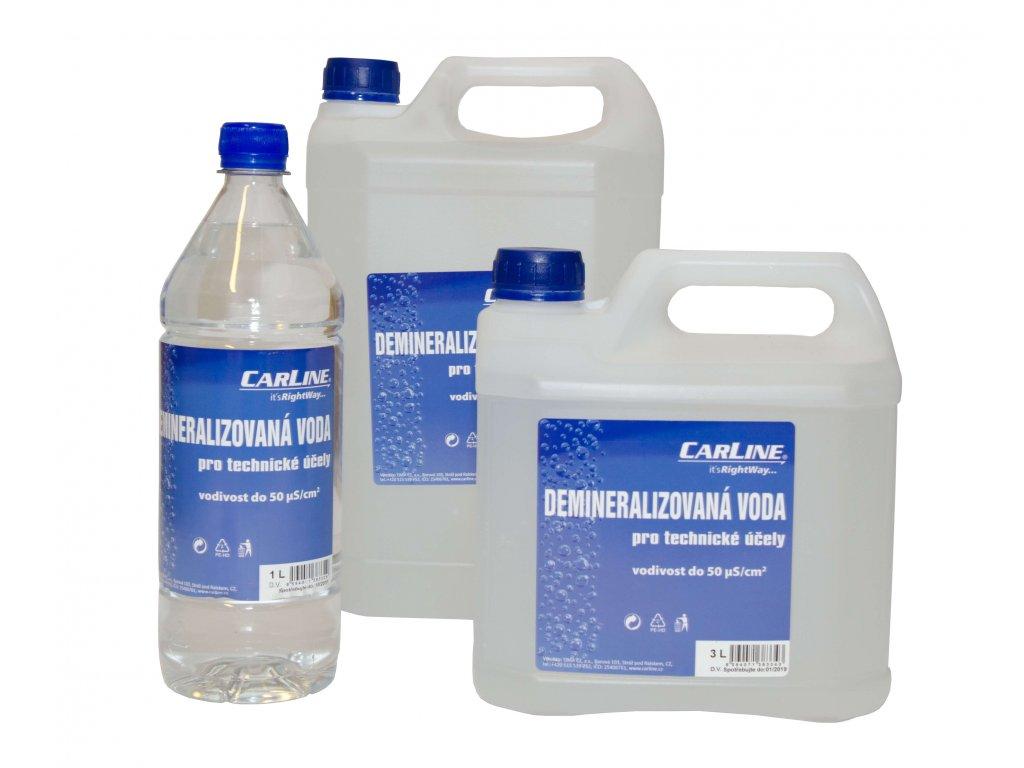 carline demineralizovana voda foto