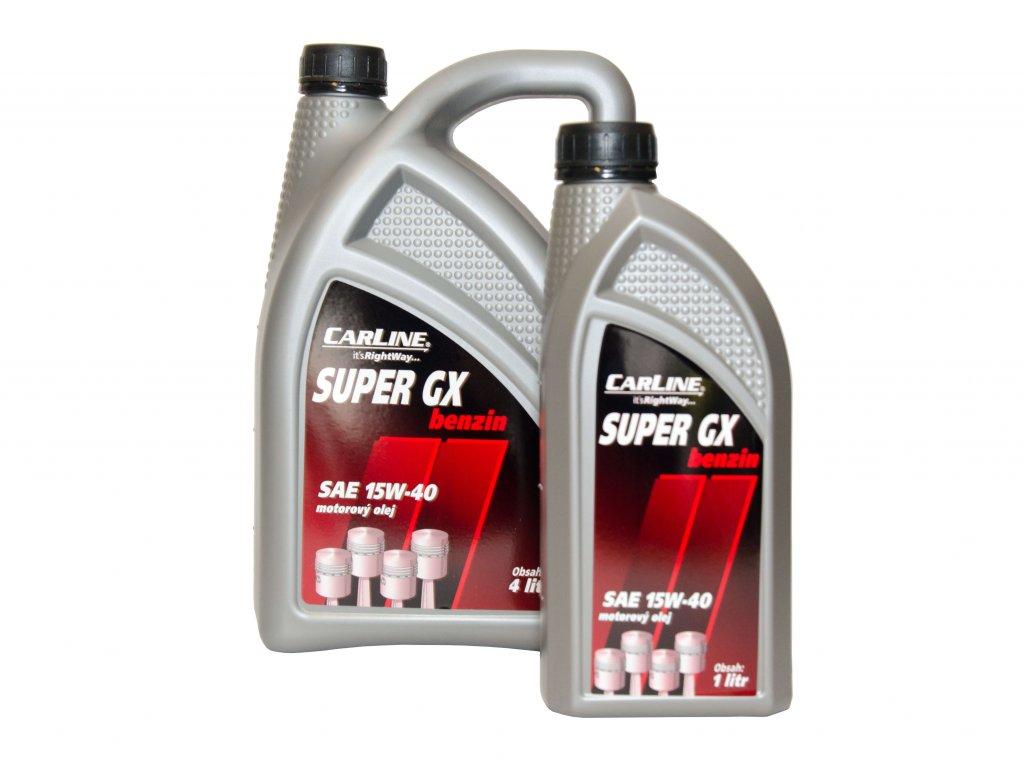 Olej motorový 15W-40 SUPER GX BENZIN