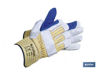 guantes serraje americano reforzados