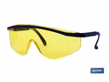 Ochranné brýle proti UV záření A