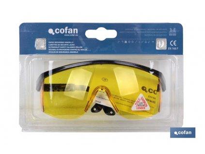 Ochranné brýle proti UV záření v obalu A