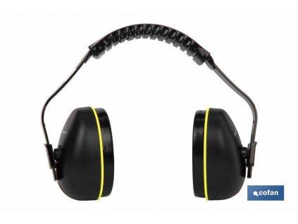 Chrániče sluchu Kat III CE SNR 32DB Super lehké A