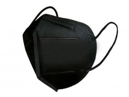 respirator černý