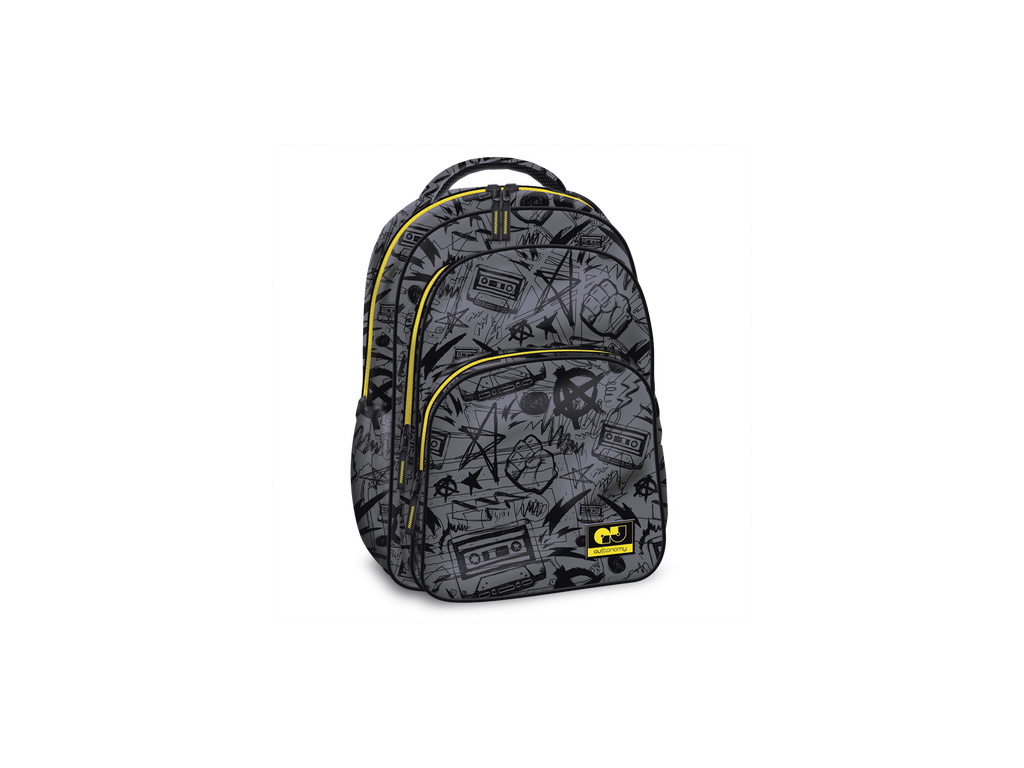 4013 skolni batoh autonomy grey teenage 3k