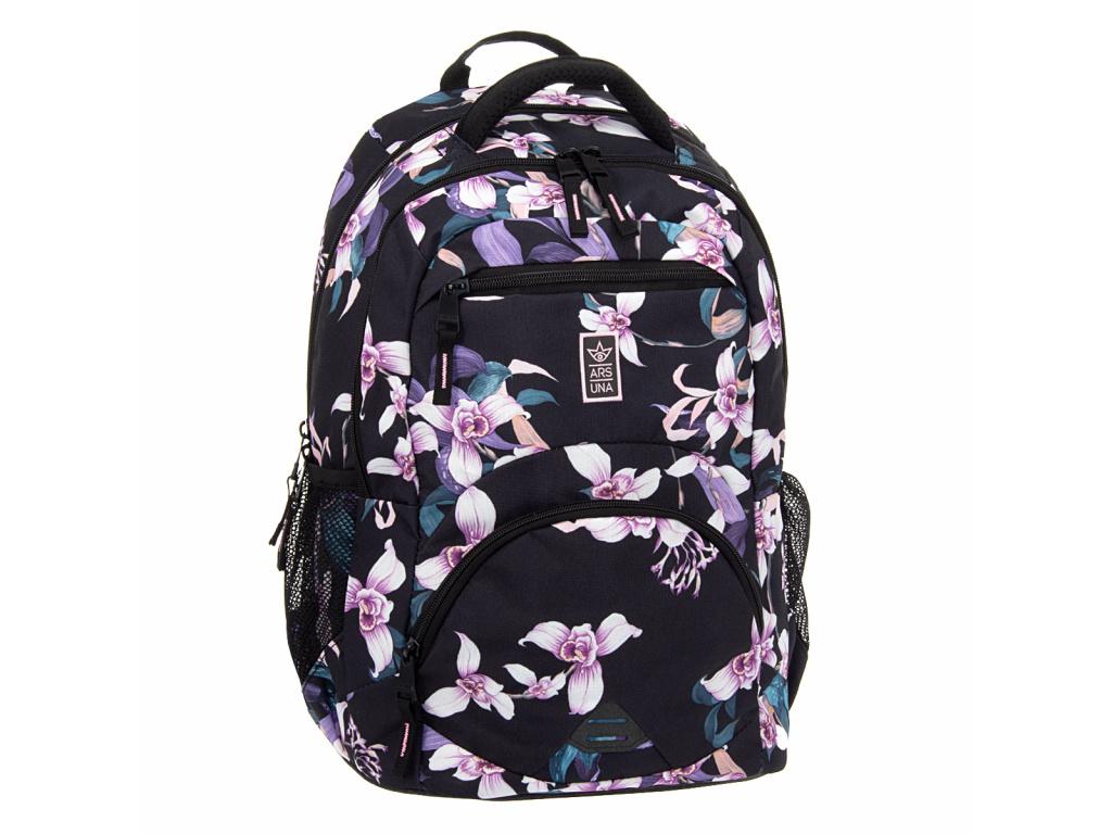 Ergonomický školní batoh Orchideje