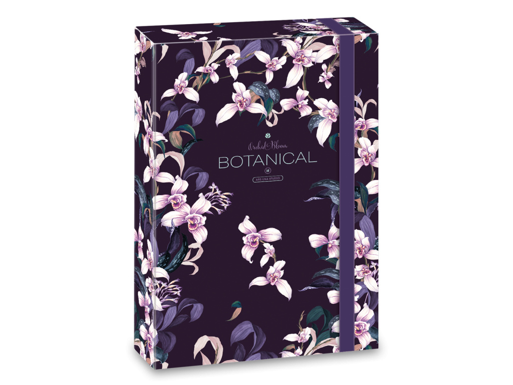 Box na sešity Orchideje A4