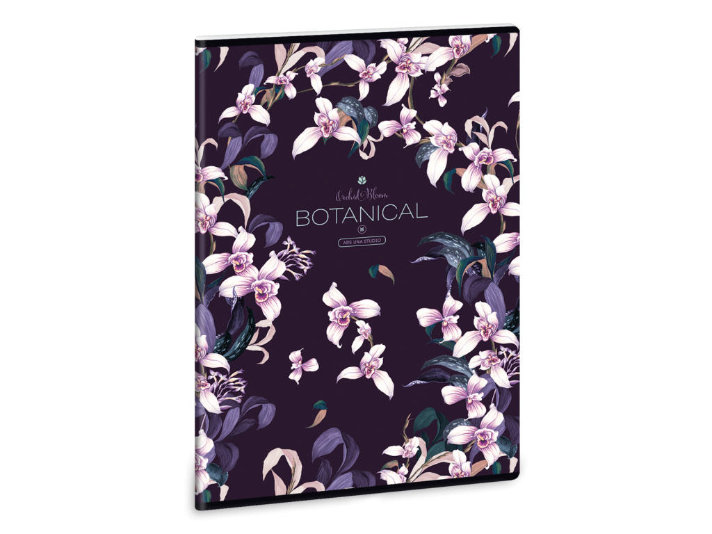 Ars Una Sešit Orchideje A4 čistý