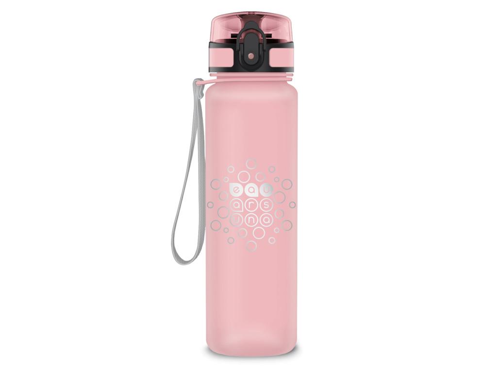 Láhev matná 600 ml růžová