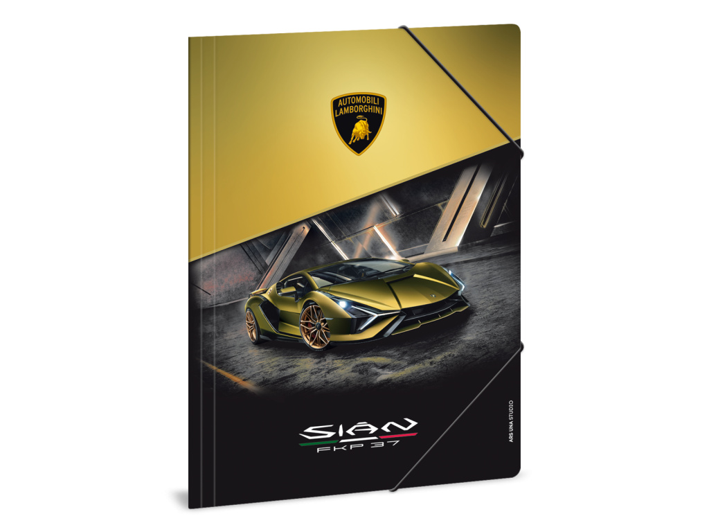 Složka na sešity Lamborghini 21 gold A4