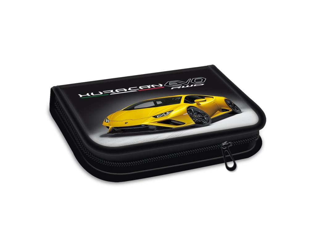Penál Lamborghini gold 21 plněný