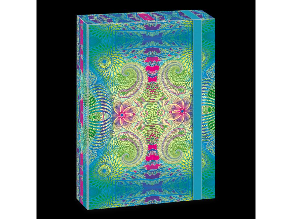 Box na sešity Mandala A4 Colorful