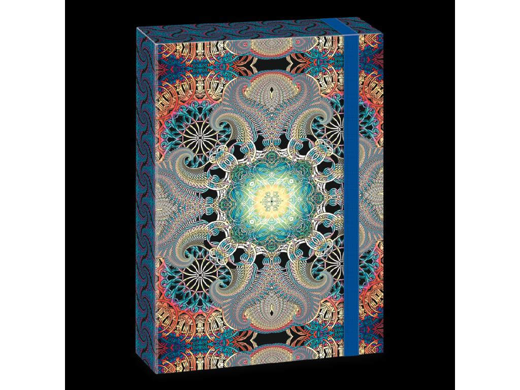 Box na sešity Mandala A4 Life