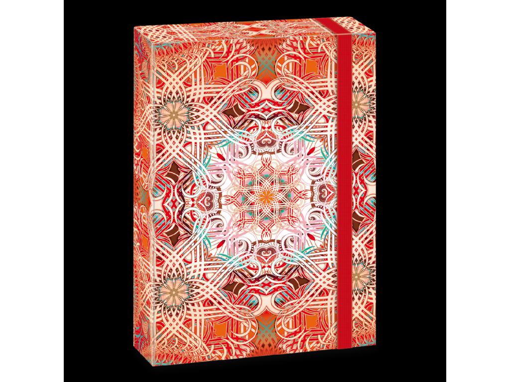 Box na sešity Mandala A4 Love