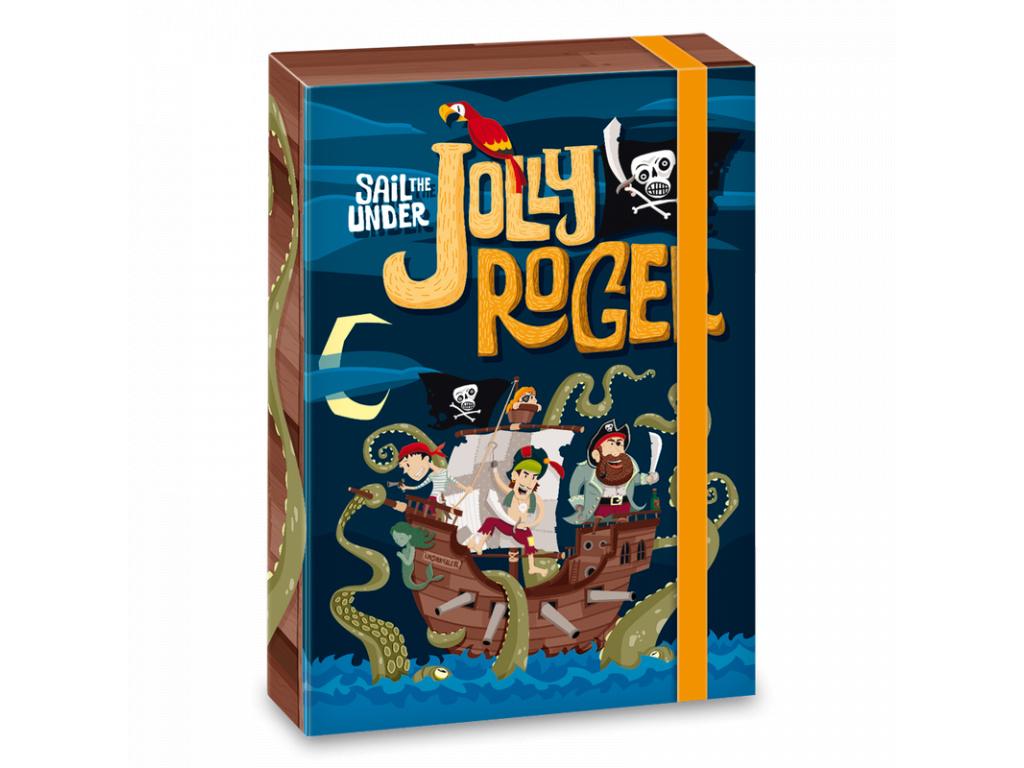 1219 ars una box na sesity pirat jolly roger a4