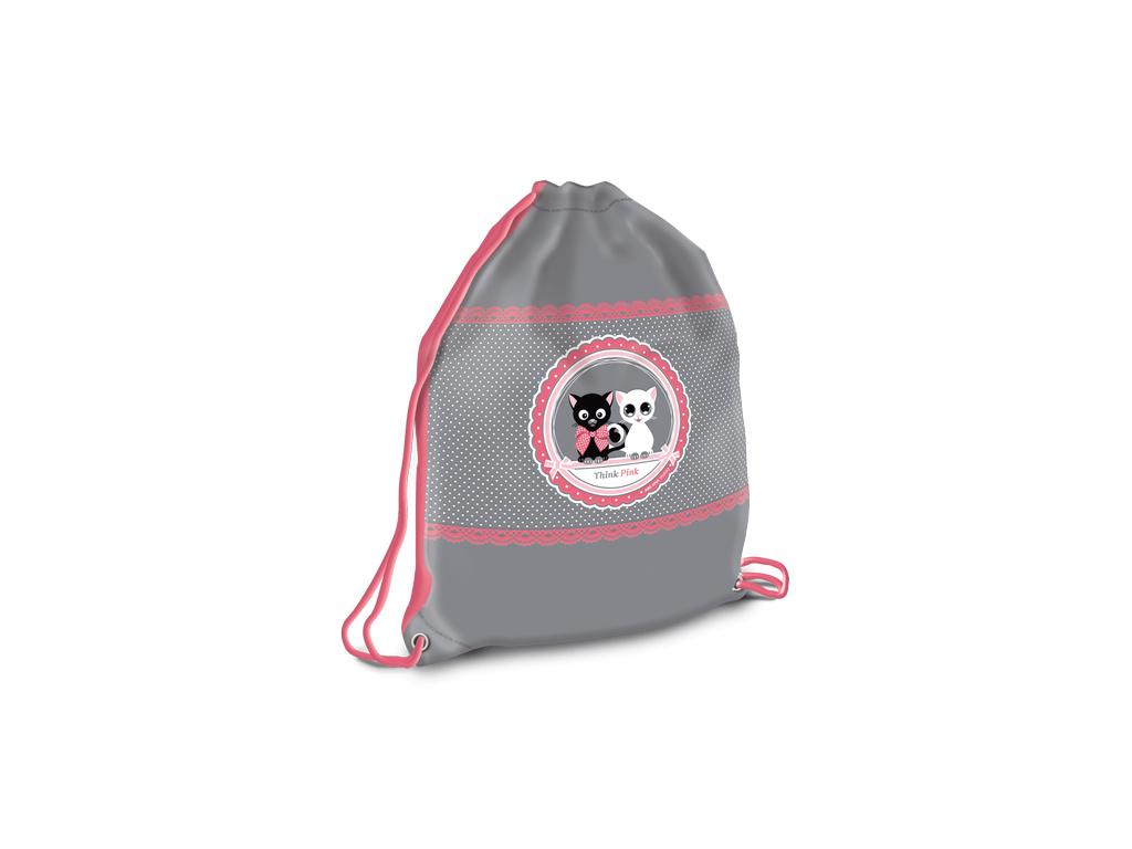 1019 ars una sacek na prezuvky think pink kocky 2
