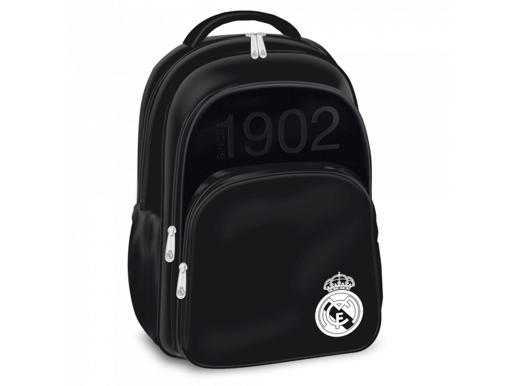 1356 skolni batoh real madrid black 3k