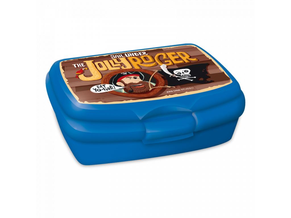 2043 box na svacinu pirat jolly roger