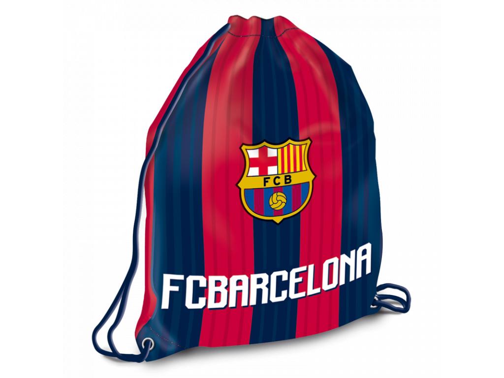 2661 sacek na prezuvky fc barcelona 18 32x42cm