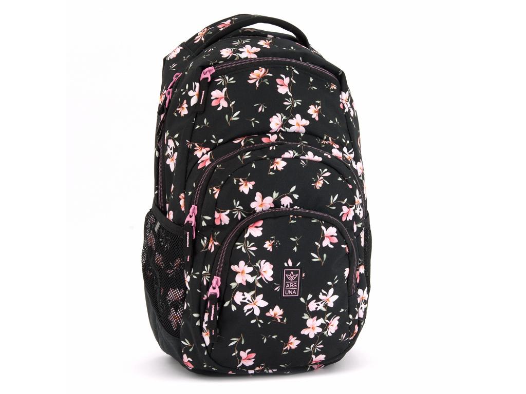 2724 1 studentsky batoh ars una magnolie au2