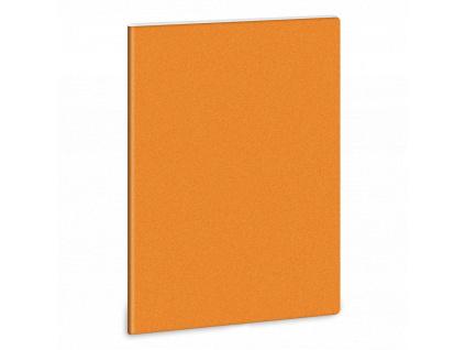 3806 linkovany sesit a5 trpytivy oranzovy