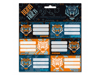 Ars Una Jmenovky na sešity Roar of the Tiger