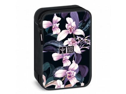 Školní penál Orchideje