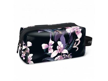 Kosmetická taška Orchideje