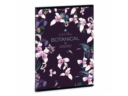 Ars Una Sešit Orchideje A5 linkovaný