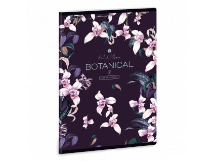 Sešit Orchideje A5 linkovaný
