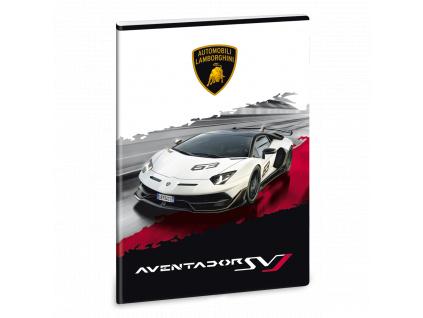 Ars Una Sešit Lamborghini 20 bílé A4 linkovaný