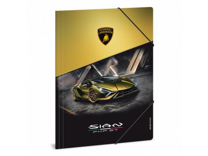 Složka na sešity Lamborghini Gold A4