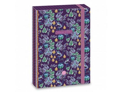 Box na sešity Jungle Fruit A4