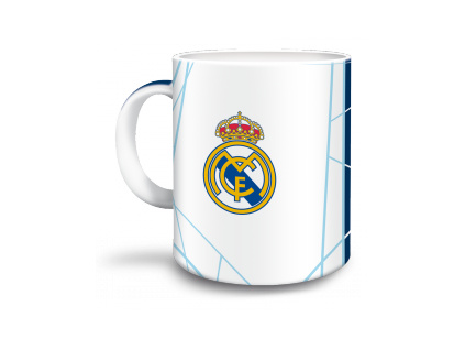 1503 hrnek real madrid bily