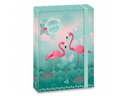 3344 ars una box na sesity pink flamingo a4