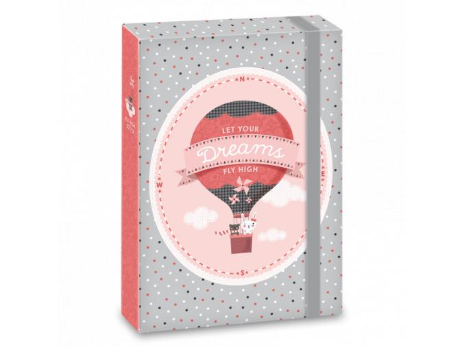 Ars Una Box na sešity Fly High A4