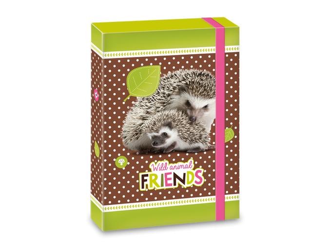 Ars Una Box na sešity Hedgehog ježek A5