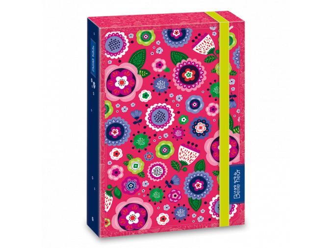 Ars Una Box na sešity La belle fleur A4