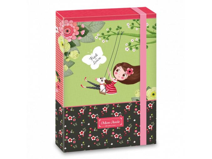 Ars Una Box na sešity Mon Amie A4