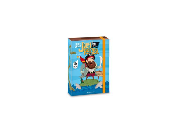 Ars Una Box na sešity Pirát Jolly Roger A5