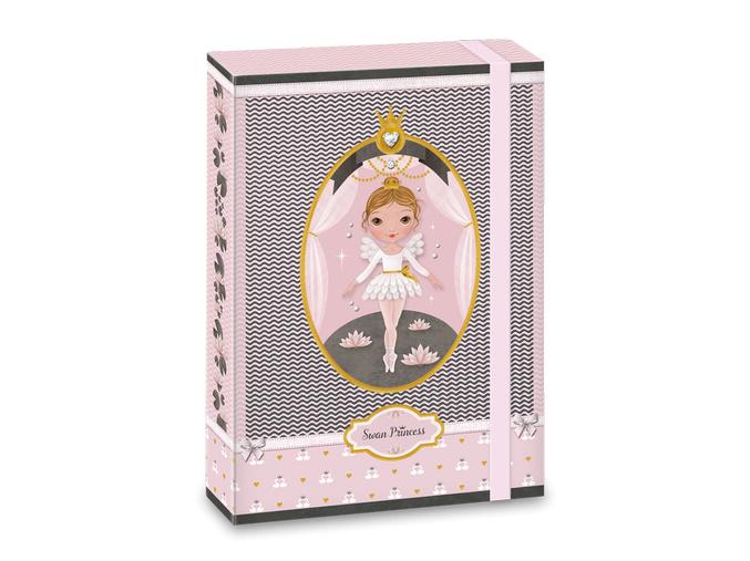 Ars Una Box na sešity Swan Ballerina A5